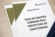 Taxa de Sinistro cobrada pela Prefeitura de Itapetininga